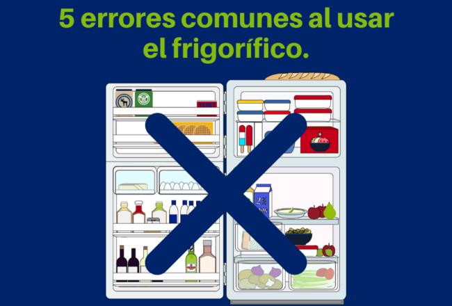 Errores comunes en el uso de la nevera frigorífico