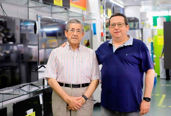 Antonio Tornos padre e hijo